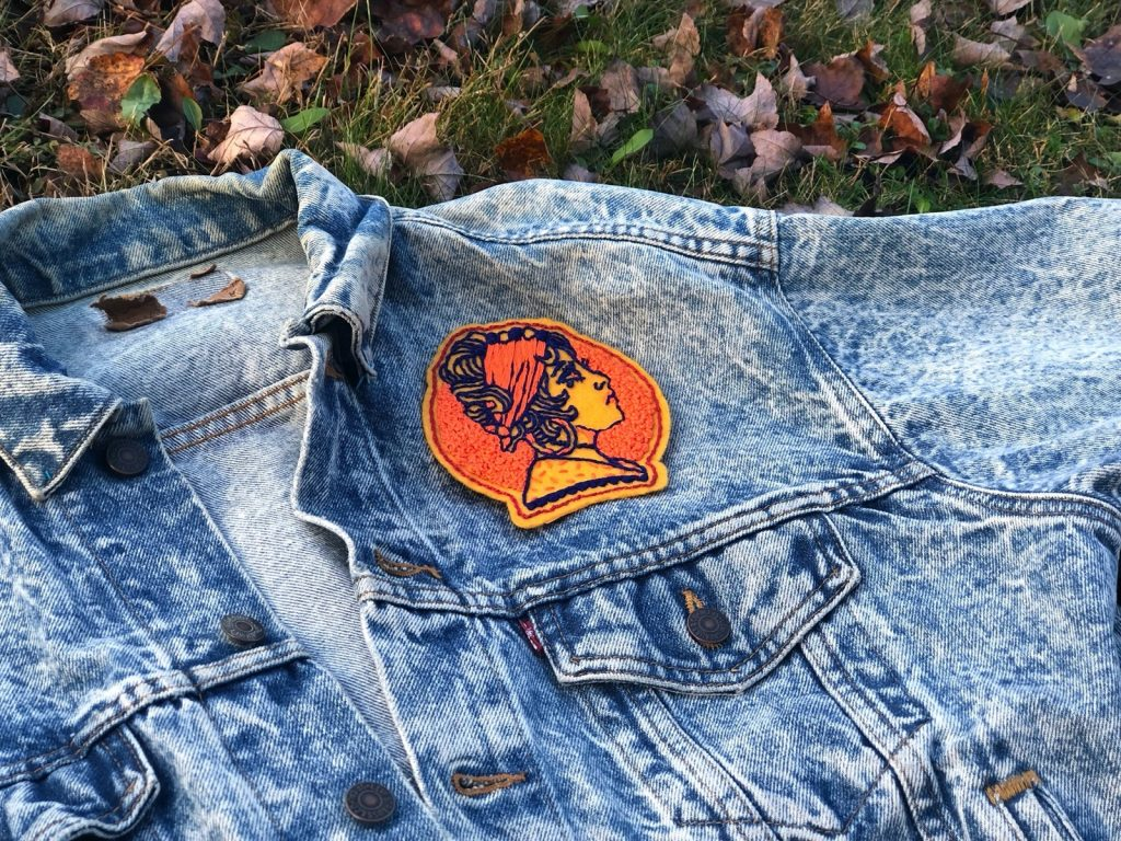 Hand Embroidered Gypsy Patch #personalstyle #modernstyle #handmadegoods #patches #handmadepatches