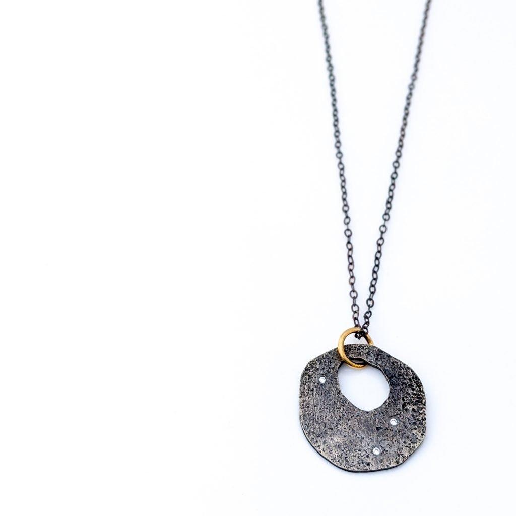 Sparkle Sprinkle Donut Necklace by Rocky Pardo