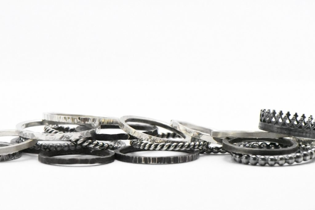 Silver Stacker Ring Set from Rocky Pardo Jewelry