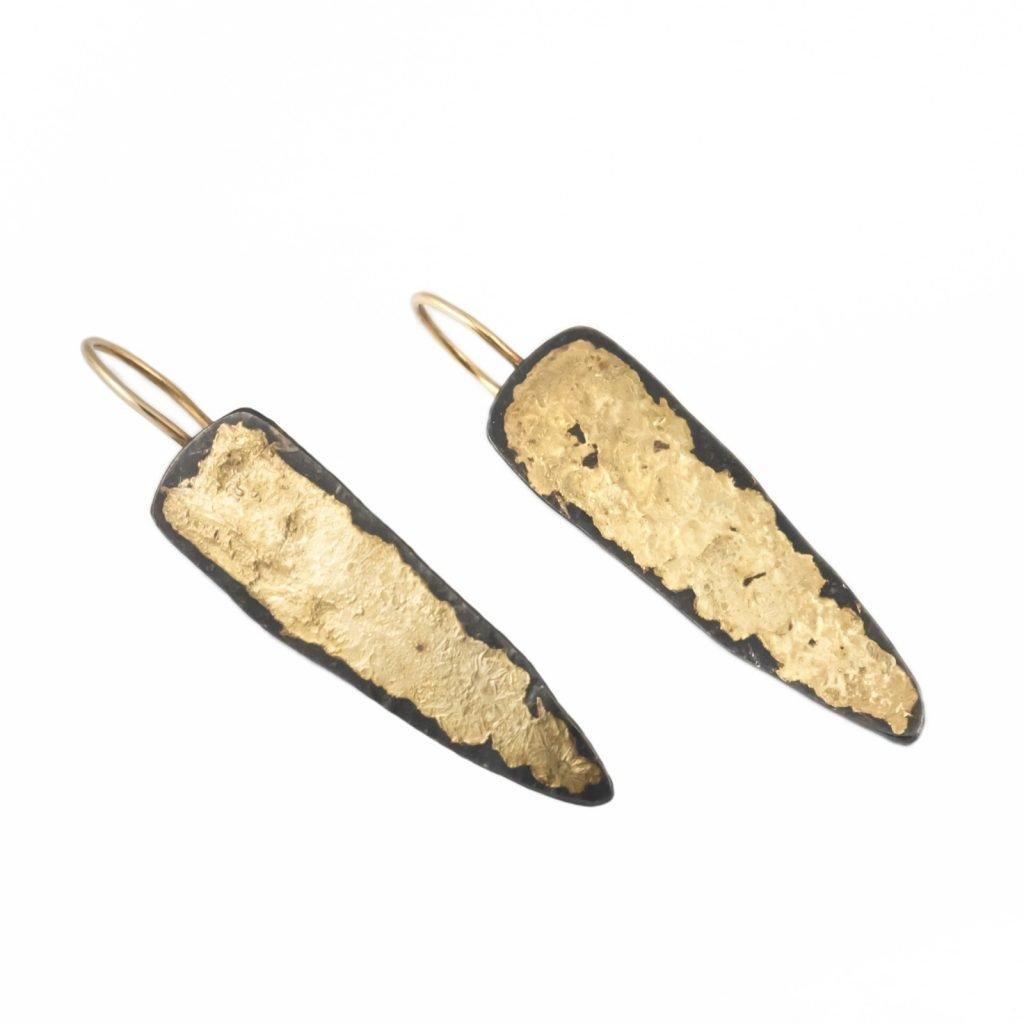 Glow Flow Fang Earrings by Ascendant Jewelry
