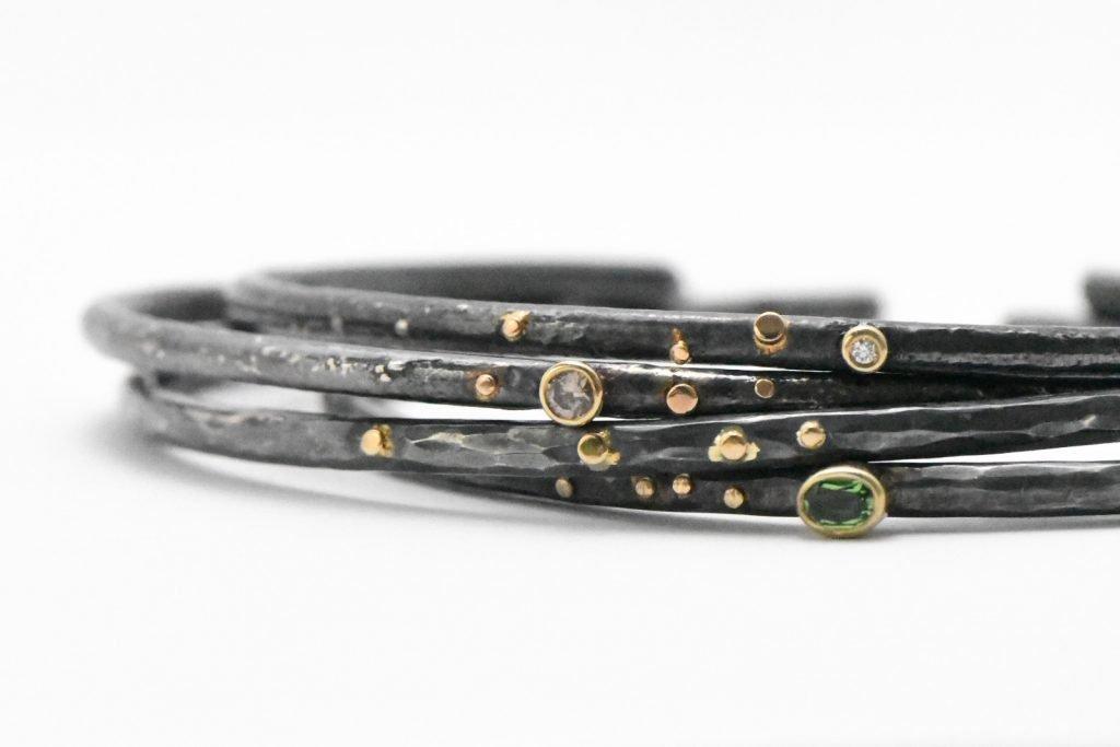 Sparkle Estrella Stacklets by Rocky Pardo Jewelry