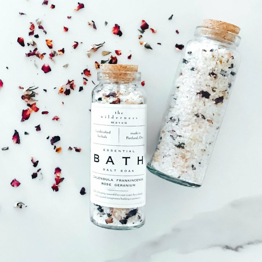 Top 3 Self-Care Ideas for Fall #fallselfcare #selfcareproducts #bathsalts
